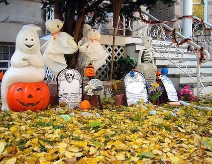 Cementerios para halloween