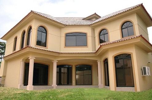 Fachadas de casas modernas de 2 plantas for Modelos de casas de dos pisos para construir