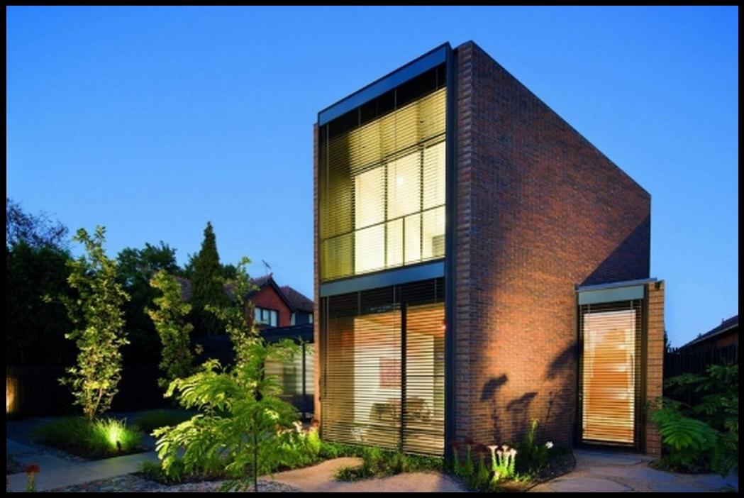 Fachada de ladrillo for Casas modernas ladrillo
