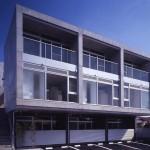 Fachadas de casas modernas con cemento alisado