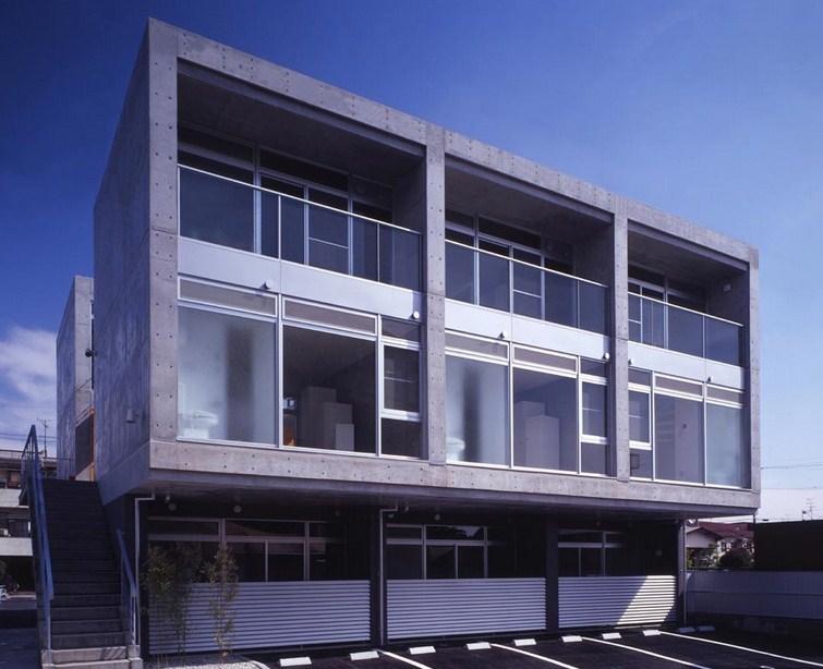 Fachadas de casas con cemento alisado