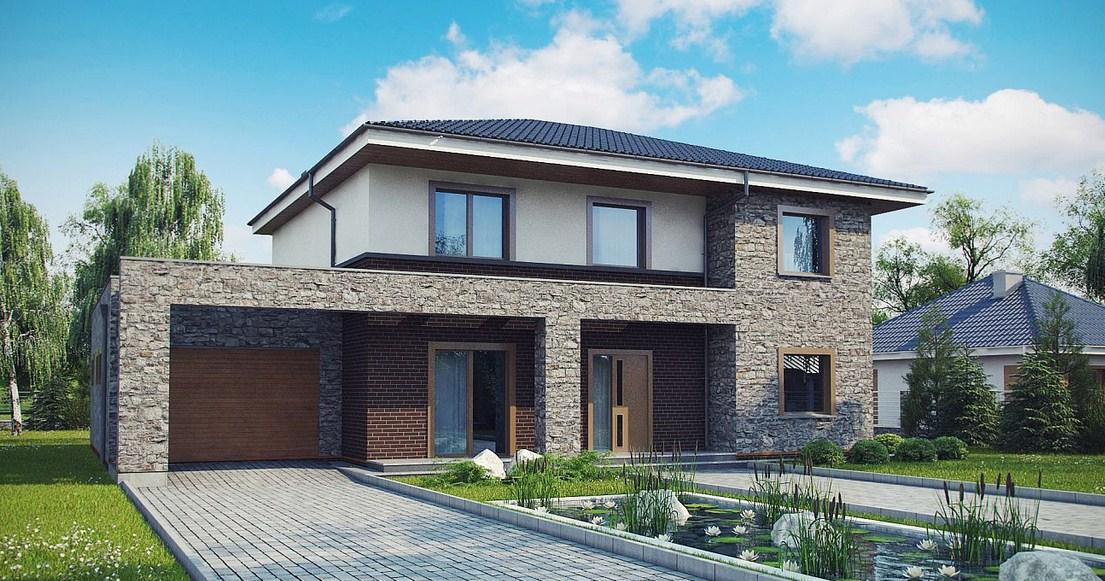 Fachadas de casas modernas con piedra best fachadas de for Fachadas de casas modernas con piedra