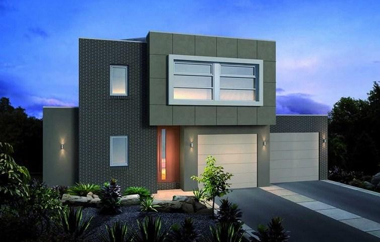 Fachadas de casas de estilo urbano