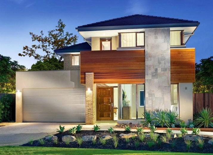 fachadas de casas modernas con jardin