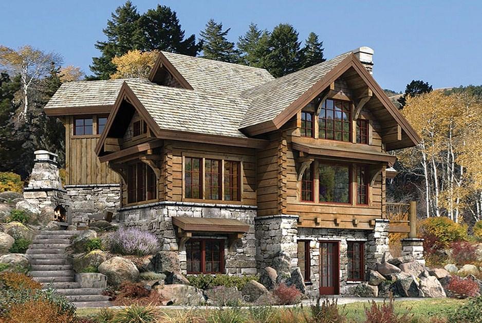 Fachadas de piedra fotos cheap with fachadas de piedra for Decoracion de casas con piedras