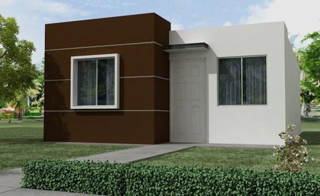 Frentes de casas sencillas for Fachadas de casas de un piso