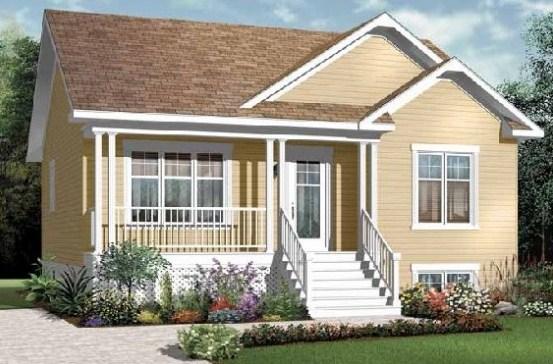 Fachadas de casas sencillas y económicas