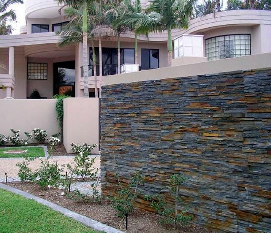 Piedras para fachadas - Revestimientos para paredes exteriores en piedra ...