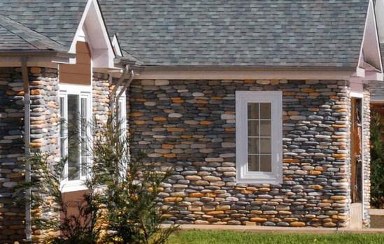 fachadas de casas con piedra