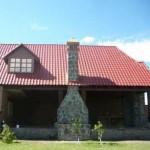 Fachadas de casas con galvateja