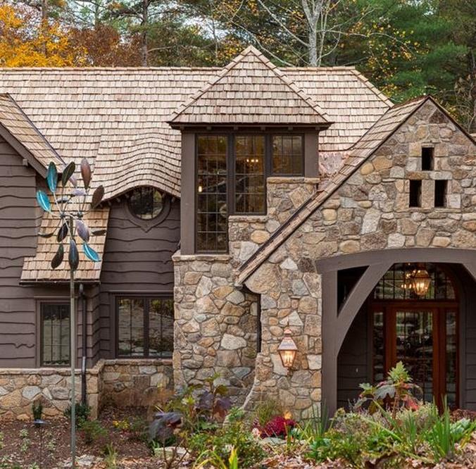 Fachadas de casas rusticas for Fachadas rusticas para casas