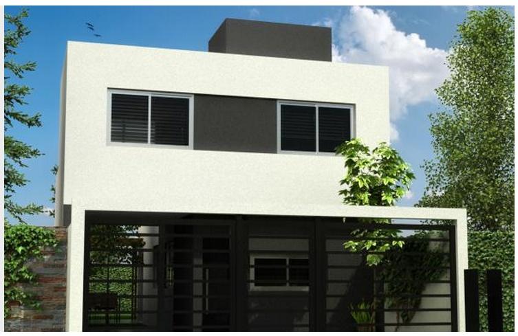 terminaciones de fachadas de casas
