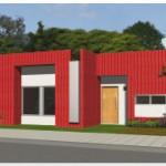 Más tipos de fachadas de casas