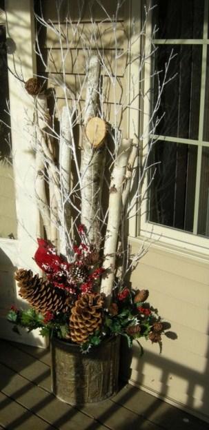 Fachadas de casas con adornos navide os for Adornos navidenos sencillos