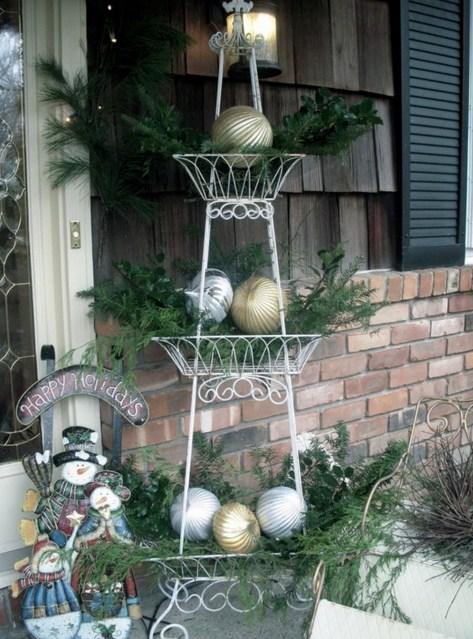 Adornos navideños simples y baratos