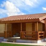 Bonitas casas de madera