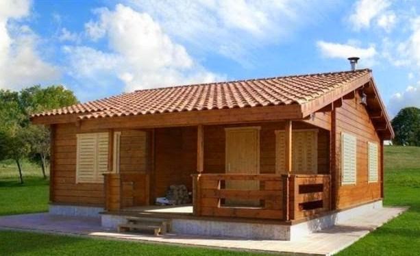 Fachadas de casas de madera - Imagenes de casas de madera ...