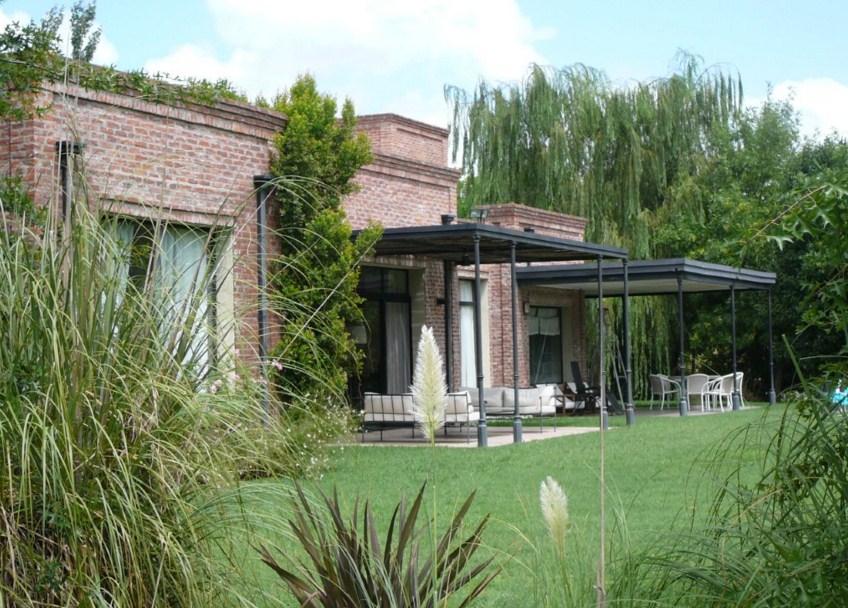 Fachadas de casas de campo - Ladrillo visto rustico ...