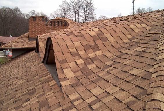 Fachadas de casas con tejas asfalticas for Colores para techos de casas