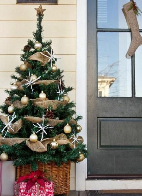 Decoracion simple para navidad