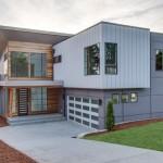 Fachadas de casas con bloques de cemento