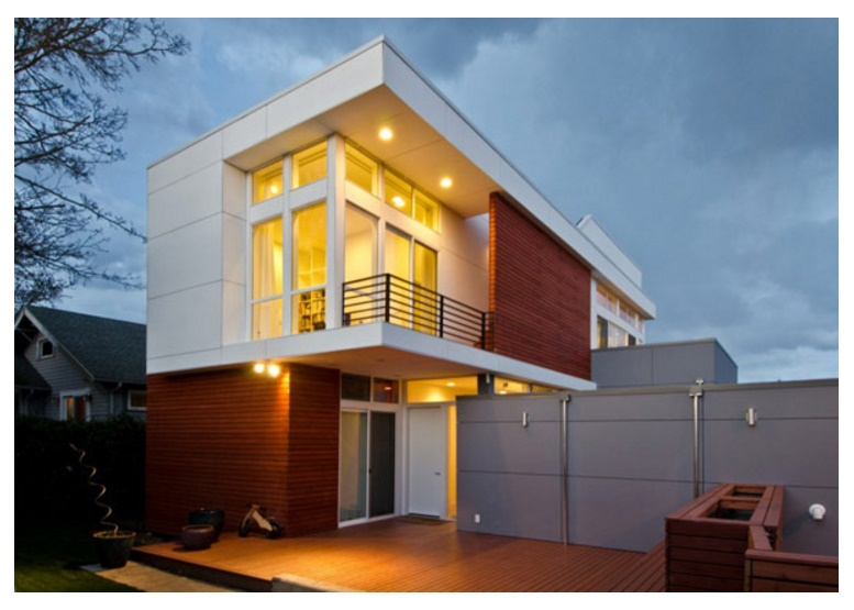 Frentes de casas part 31 for Fachada casa 2 pisos