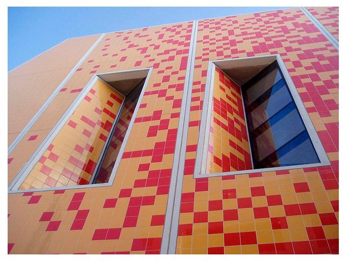 Ceramic façades