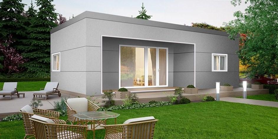 Fachadas con bloques de cemento