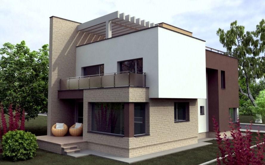 Fachadas de casas bonitas y modernas for Modelo de fachadas para casas modernas