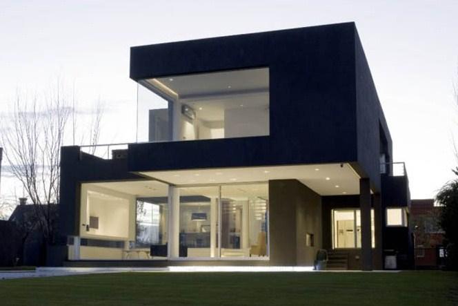 Fachadas de casas bonitas y modernas for Fachadas de chalets modernos