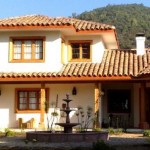 Fachadas de casas coloniales
