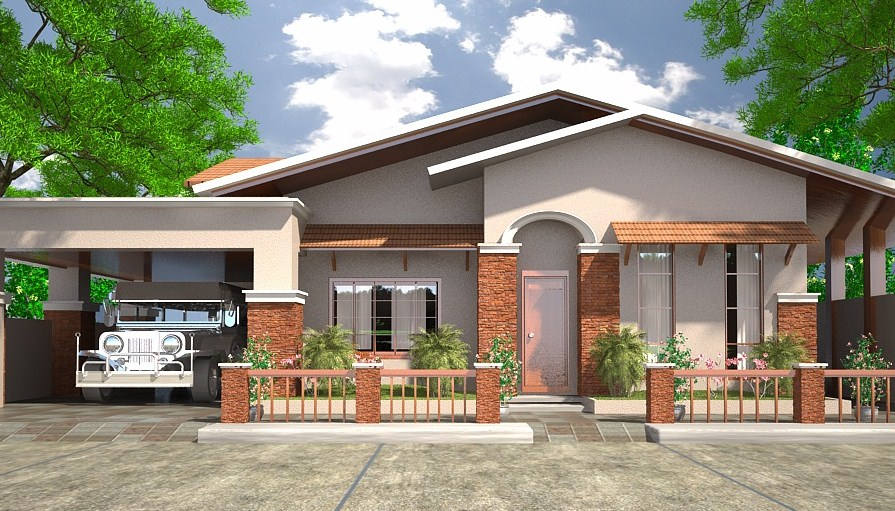 fachadas de casas con estilo colonial