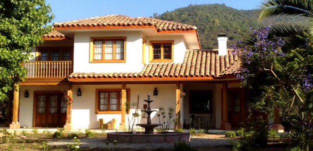Fachadas de casas coloniales for Planos de casas modernas mexicanas