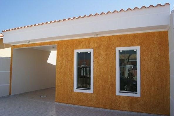 Fachadas de casas con grafiado