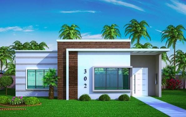 Fachadas de casas con local comercial