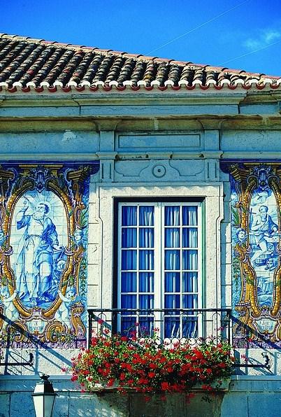 Fachadas de casas con mosaico - Fachadas con azulejo ...