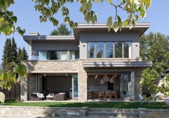 fachadas de casas con negocio