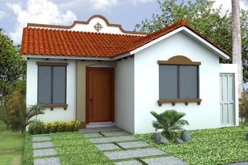 Fachadas de casas con tejas coloniales for Colores para techos de casas