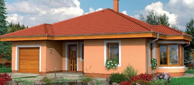 Fachadas de casas con tejas rojas