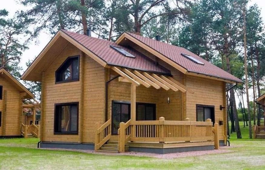 Bonitas casas de madera - Disenos casas de madera ...