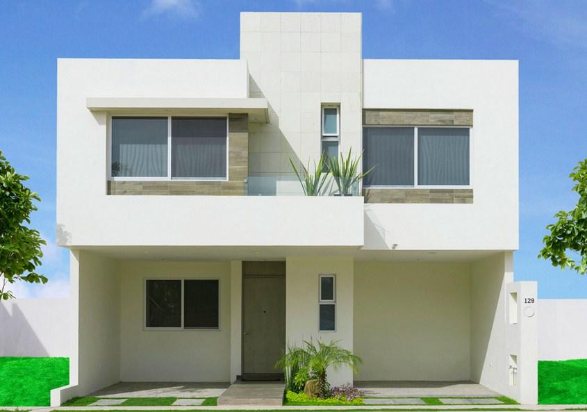 Fachadas de casas minimalistas part 3 for Pisos minimalistas modernos