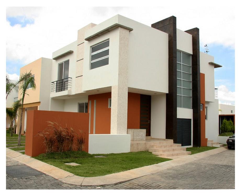 Fachadas de casas concrete ideas va for Colores en casas minimalistas