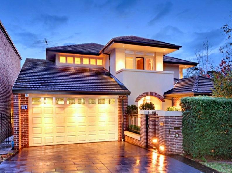 Fachadas de casas modernas seguras