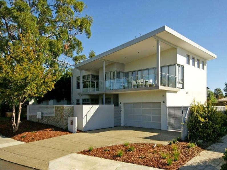 Fachadas de casas modernas y vanguardista