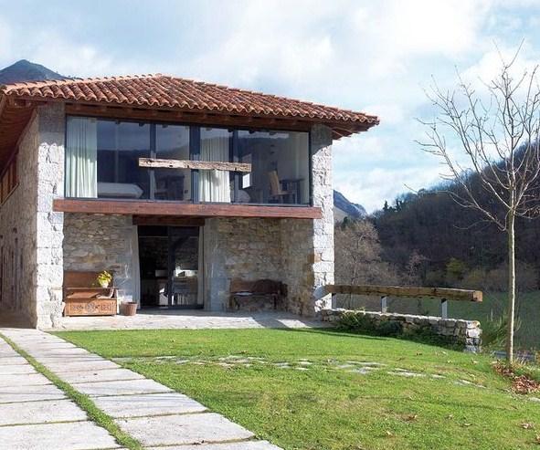 Fachadas de casas rusticas for Piedra rustica para fachadas