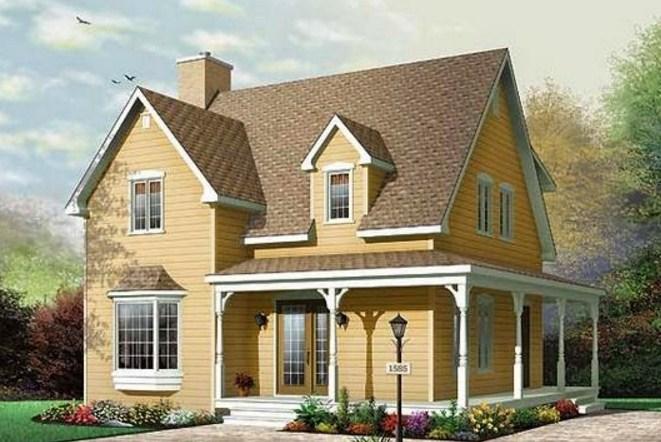 Fachadas de casas sencillas con faroles