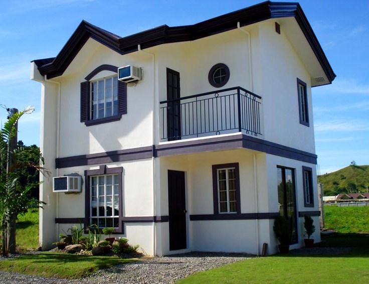 Fachadas de casa de dos pisos for Fachadas para casas pequenas de dos pisos