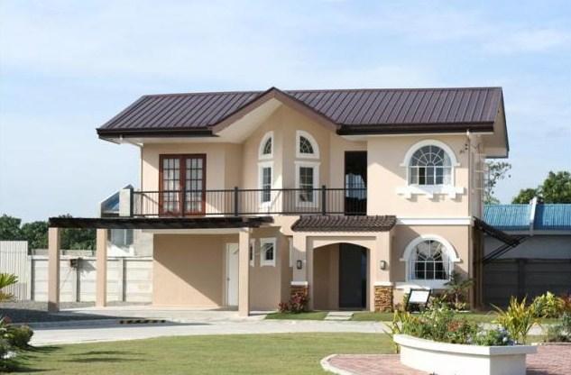 Fachadas modernas de dos pisos for Fachadas para casas pequenas de dos pisos
