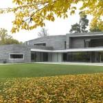 Fachadas de casas modernas en tonos grises