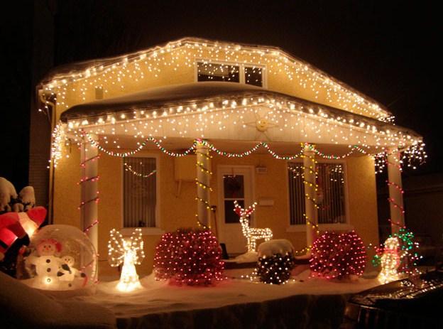 Fachadas navideñas